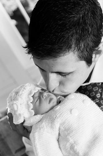 foto portada papa con su bebe