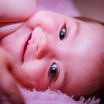 Sesión foto de carita bebé