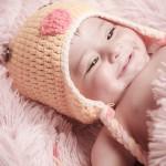 foto bebé con gorrito