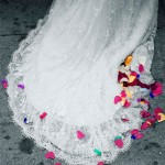foto boda cola del vestido