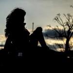foto preboda novia al contraluz