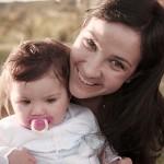 Foto de madre con su bebota