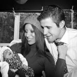 Foto en Familia en familia en blanco y negro